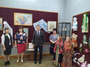 Открытие выставки «Промыслы и ремесла Пензенского края. Городищенский район».