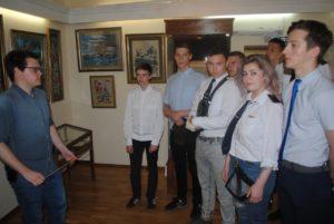 16 мая музей В.О. Ключевского посетили студенты