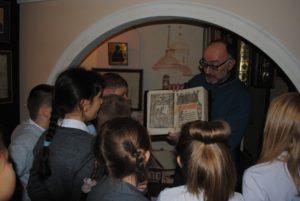Учащиеся школы №23 побывали в музее В.О. Ключевского