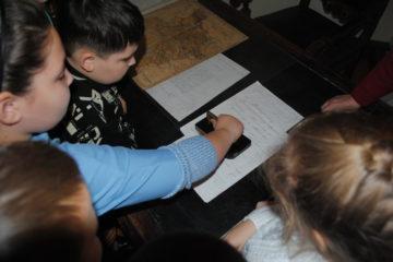 Интерактивная экскурсия для школьников из Мокшана.