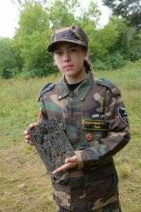 Член поискового отряда «Поиск-вездеход» примет участие во Всероссийском форуме «Молодежь России — Поколению Победителей»