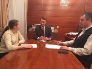 Олег Ягов провел рабочую встречу по вопросам информационного освещения деятельности РВИО в Пензенской области