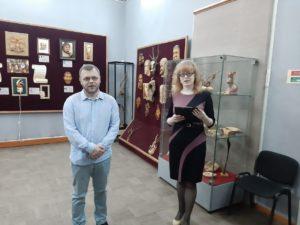 В музее народного творчества состоялось открытие персональной выставки  пензенского мастера Алексея Сергеевича Субботина «Дерево, оживлённое  искусством».