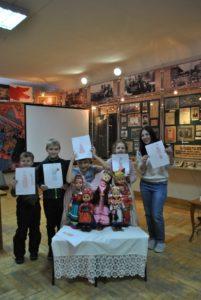 В Пензенском краеведческом музее прошло детское занятие «Народов дружная семья»