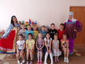 Сотрудники Пензенского краеведческого музея провели Широкую Масленицу в МДОУ № 141.