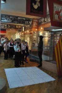 Сотрудники музея провели тематическую экскурсию «Эх, разведка фронтовая».