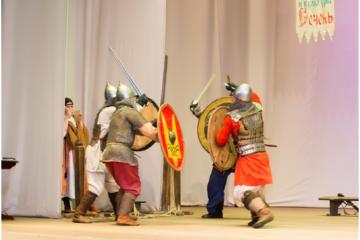 В Пензе прошел фестиваль древнерусской культуры «Сечень»