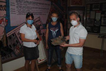 Посетители ГБУК «Пензенский краеведческий музей» подарили музею интересную находку