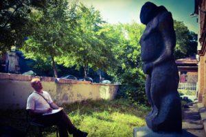 Пензенский краеведческий музей посетил удивительный человек, старший научный сотрудник Донецкого национального университета А.В. Евглевский