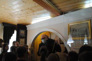В музее побывали учащиеся МБОУ СОШ № 28 им. В.О. Ключевского.