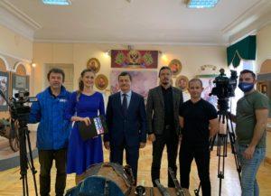 В Пензенском краеведческом музее прошли съёмки телепередачи «Город говорит»