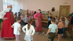 Пензенский краеведческий музей продолжает  сотрудничество с детскими садами города Пензы.