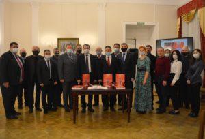 25 ноября в Пилястровом зале Губернаторского дома состоялась презентация первого тома Чембарской Книги Памяти