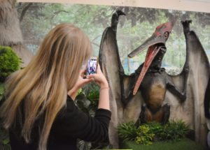 Сегодня в Пензенском краеведческом музее раздаётся грозный рык саблезубого тигра, крики птеранодона и трубный рёв мамонта