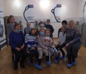 Музей И.Н. Ульянова посетили гости из студии «Расписные зори» Детской школы искусств им. Ю. Е. Яничкина