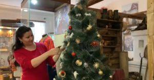 Превью к новогодней программе в Музее И.Н. Ульянова!