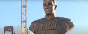 В Пензе в День героев Отечества торжественно открыли бюст генерала Василия Глазунова