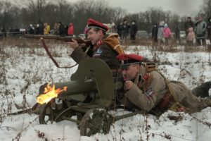 28-29 ноября в Пензе прошел военно-исторический фестиваль «Марсово Поле. Русский Исход», посвященный 100-летию окончания Гражданской войны на европейской части России