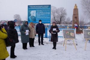 В с. Суворово состоялась презентация проекта «Суворовский призыв – Суворовская победа»