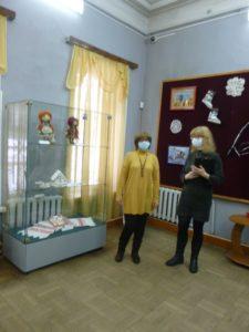 В музее народного творчества состоялось открытие персональной выставки М.В. Киткиной «Святочные пряники»