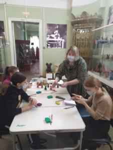 Мастер — класс по лепке традиционной пензенской глиняной игрушки
