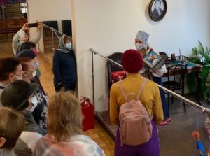 16 января в музее И.Н. Ульянова прошло мероприятие для участников клуба «Скандинавская ходьба по-Пензенски»