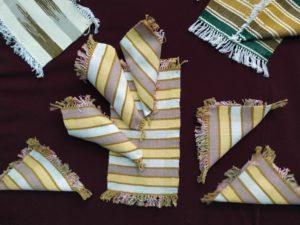 В Музее народного творчества открылась выставка «Радужное ткачество»