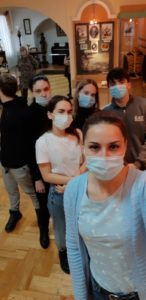К неделе музейного селфи присоединились студенты базового медицинского колледжа города Пензы