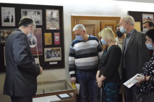 В музее В.О. Ключевского, в рамках заседания клуба «Наследие» состоялось открытие новой выставки «Музейные раритеты»