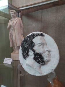 В музее народного творчества начала работать выставка «Я был рождён для жизни мирной…», посвящённая памяти А.С. Пушкина