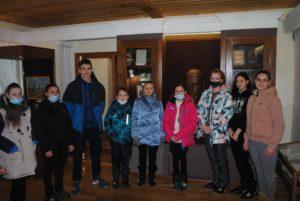 Посетители в музее В.О. Ключевского