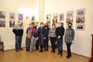 10 февраля в Литературном музее состоялось открытие персональной фотовыставки «Прогулка по Праге» фотохудожницы Елены Бубновой (г. Заречный)