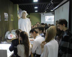 Музей поисковых отрядов Пензенской области посетили семиклассники Гимназии № 4 «Ступени»