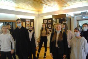 27 февраля в рамках образовательного проекта «Культурная суббота» музей В.О. Ключевского посетили ученики средней школы №63
