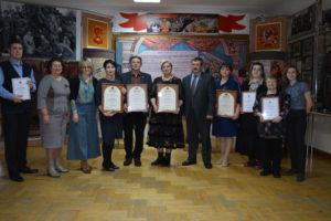 В Пензенском краеведческом музее, 4 февраля, в день 82-летия со дня образования Пензенской области состоялась торжественная церемония награждения победителей II Всероссийский конкурс краеведов, работающих с молодёжью — 2020.