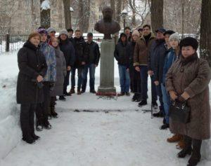 3 февраля, в день памяти известного путешественника Лаврентия Загоскина, состоялась литературно-мемориальная акция