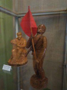 В музее народного творчества начала работать выставка, посвящённая Дню Защитника Отечества