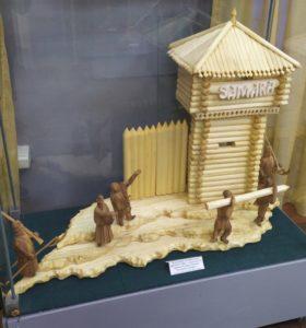 С 12 февраля по 7 марта в музее народного творчества будет проходить выставка работ самарского резчика по дереву Николая Алексеевича Котлярова