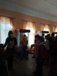 В музее народного творчества прошла экскурсия для учащихся школы № 7