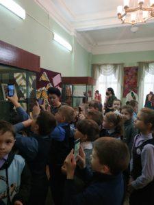 В музее народного творчества прошла экскурсия для учащихся школы № 47 г. Пензы