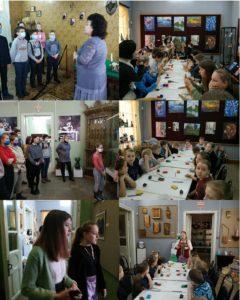 В музее народного творчества в рамках акции «Неделя мастерства» проходят тематические экскурсии и мастер-классы для пензенских школьников