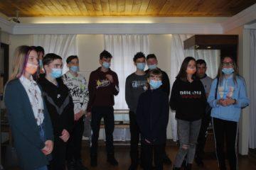 24 марта музей В.О. Ключевского посетили школьники г. Заречного и Камешкирского района