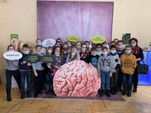 Выставку «Внутри человека» посетили учащиеся МБОУ СОШ № 51