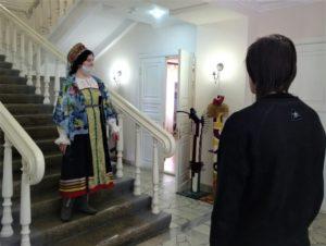 28 марта в музее И.Н. Ульянова прошло совместное мероприятие организованное этнографической комиссией Русского географического общества и работниками музея