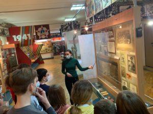 В дни весенних школьных каникул в Пензенском краеведческом музее как всегда многолюдно!