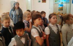 Всю прошлую неделю, когда шла Масленица, в музее И. Н. Ульянова не смолкали детские голоса