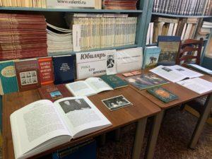 В библиотеке краеведческого музея открылась выставка «Страницы из дневника», посвящённая 95-летию со дня рождения Г. В. Мясникова, партийного деятеля, организатора ряда музеев Пензенской области