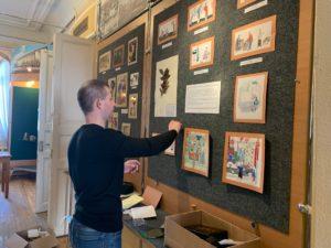 Идёт тщательная подготовка выставки «Загадочный мир Востока» (Из фондов Пензенского краеведческого музея)
