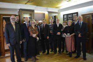 9 апреля в музее В.О. Ключевского состоялась презентация 3-го издания книги В.О. Ключевского «Афоризмы и мысли об истории»