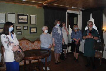 14 апреля музей В.О. Ключевского посетили участники XIV Межрегиональной инновационной лаборатории «Библиотека – территория творчества»